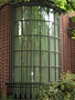 MOL10C - Dumbarton Oaks - Bent Glass - G town Wash, DC