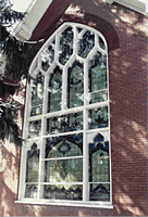Glazing Option - AOL - Large Gothic Tempered - Bald Eagle Church - Mill Han, PA