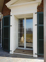 Glazing Option - D-48 Panel - 3-16 Inch Tempered - Monticello - Charlottesville, VA