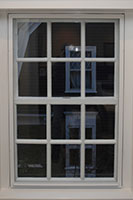 Outswing Casement Window, Monumental Magnetic One Lite - Standard Color - 3/16 Inch Laminated - Somerville Museum - Somerville, MA