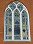 Stained and Leaded Glass Protection - D42-44 - Special Shapes - Standard Color - Central Christian Church - Wooster, OH