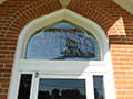 Stained and Leaded Glass Protection - D42-44 - Special Shape - Standard Color - Hopeful Lutheran Church - Florence, KY