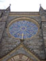 Stained and Leaded Glass Protection - D-42 - Special Shape - St. Patricks Church - Washington, DC